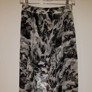 Urban Outfitters Kimchi Blue Grey High Low Skirt